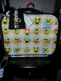 NWT Emoji Lunch Box