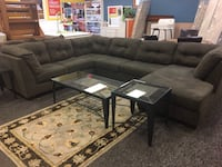 Fabric large sectional