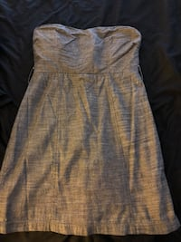 Grey fitted summer dress - size small - great condition Riverside, 92503
