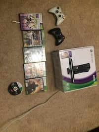 Xbox 360 with Kinect and games Wheaton, 60189