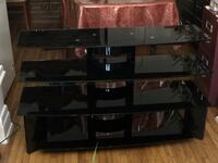 TV STAND FOR 50 inch black tempered glass neg Montréal, H4G 2A2