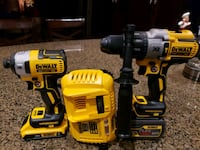 yellow and black Dewalt power tools Surrey, V3V 1E1