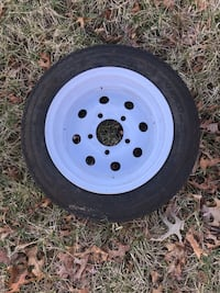 Trailer tire and rim Front Royal, 22630