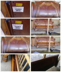 brown wooden headboard collage photo Silver Spring, 20904