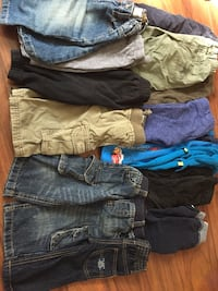 Selling whole lot of boys clothing 6-12 months Orillia