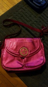 pink leather Michael Kors crossbody bag Winnipeg