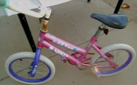 toddler's pink and purple bicycle Modesto, 95358