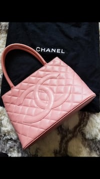 Authentic Chanel Medallion Caviar Leather Quilted - Pink Richmond, V7A 1H2