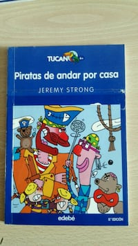 Tucan Piratas de andar por casa de Jeremy Strong book Madrid, 28039