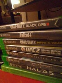 assorted Xbox One game cases 911 mi