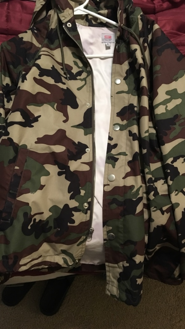 77812bb9a4c6f Used Obey, Camo jacket for sale in Lacey - letgo