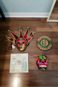 Various wall decorations (travel related) Toronto, M1L 0G9