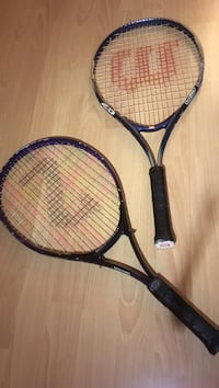 two black tennis rackets Annandale, 22003
