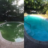 Swimming pool cleaning Castle Hills