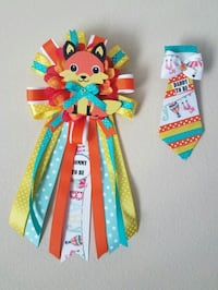 Little fox baby shower corsage/mommy and daddy t Spring, 77379