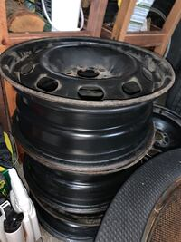 5x110  bolt pattern Steel R15 to trade for 5x112 R15 Toronto, M6E