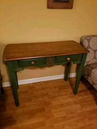 brown wooden single-drawer side table 169 mi