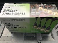Harbor Freight outdoor string lights Canton, 30115