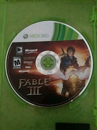 Xbox 360 Gears of War 3 disc Arvin, 93203
