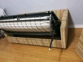 Double bed sofa pull out couch