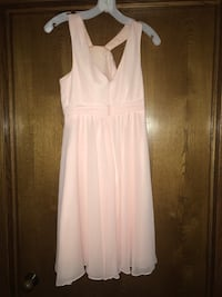 Size 3 bridesmaid dress- baby pink Wilmington, 60481