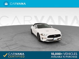 2018 Ford Mustang Convertible EcoBoost Premium Convertible 2D White