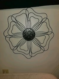 Flower metal wall decoration