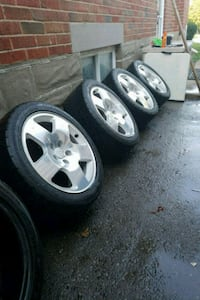"17"" Audi / MK5+ VW FAT FIVES 533 km"