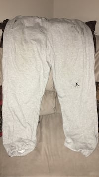 grey Air Jordan pants size L Burlington, L7R 1J7