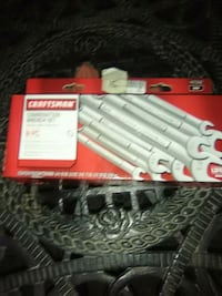 8piece Craftsman combo wrench set Pueblo, 81003