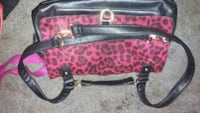 black and red leopard print tote bag Calgary, T2A 7P2