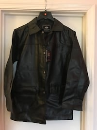 Men's leather jacket size XL 55 km