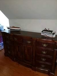 Solid wood, Italian style Dresser and end ta Hagerstown