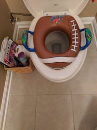 Toddler toilet training seat