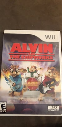 Alvin and The Chipmunks Wii Game Washington, 20012