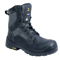 """Sz11 Work Boots 8"""" Black - Exc. Cond. $75 Vancouver, V5L 3Z4"""