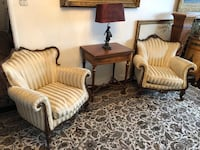 Two antique armchair