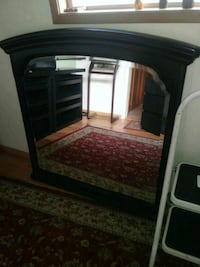 Large Classically Detailed Black Mirror Portland, 97217
