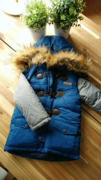 Blue/red button winter outer (Brand new) Bradford West Gwillimbury, L3Z 3A7