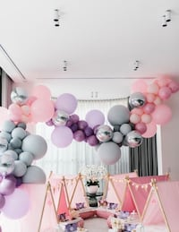Custom Balloon decorations Calgary