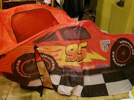 Disney Cars Tent Bed Topper