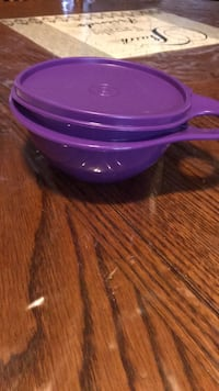 purple plastic container with lid San José, 95111