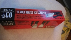 Heated ice scraper.  Brand new.  Happy Easter!