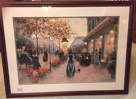6-piece ARTWORK PAINTINGS FRAMED PICTURES from $20 to $45