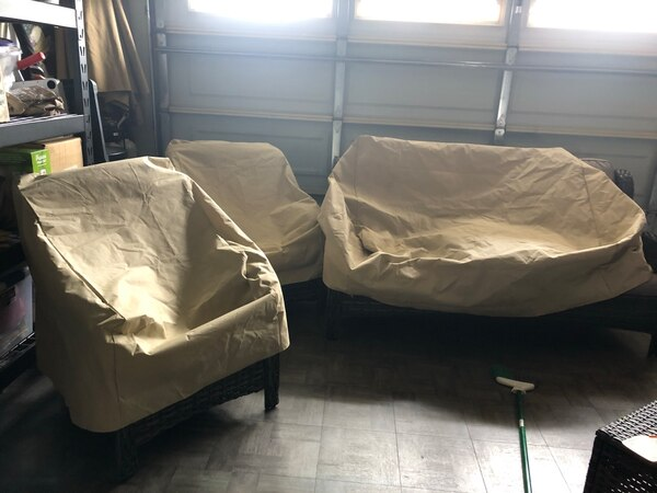 Chair and Loveseat Covers