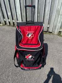 Team Canada Hockey Bag With Wheels Toronto