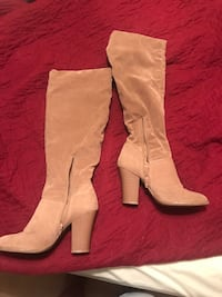 Brown heeled boots Ranson, 25438