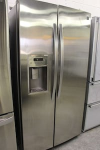 grey side by side refrigerator with dispenser Woodbridge, 22191