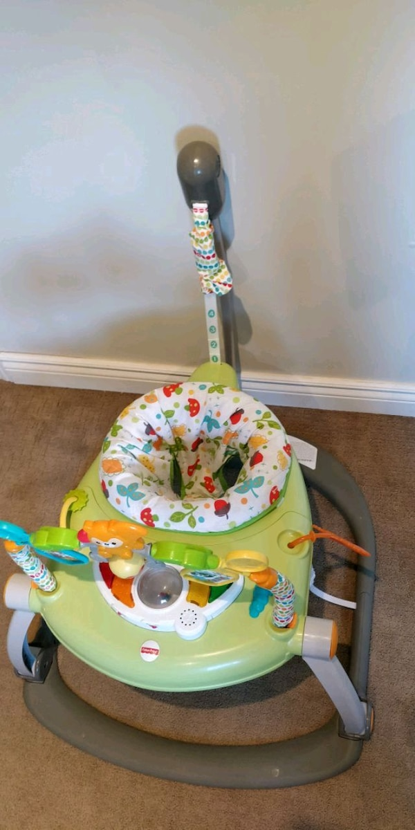 f72b585b9c94 Used Fisher-Price Space saver Jumperoo for sale in Ajax - letgo