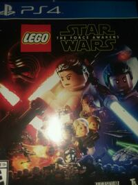 Lego Star Wars The Force Awakens PS4 game case Elkhart, 46516